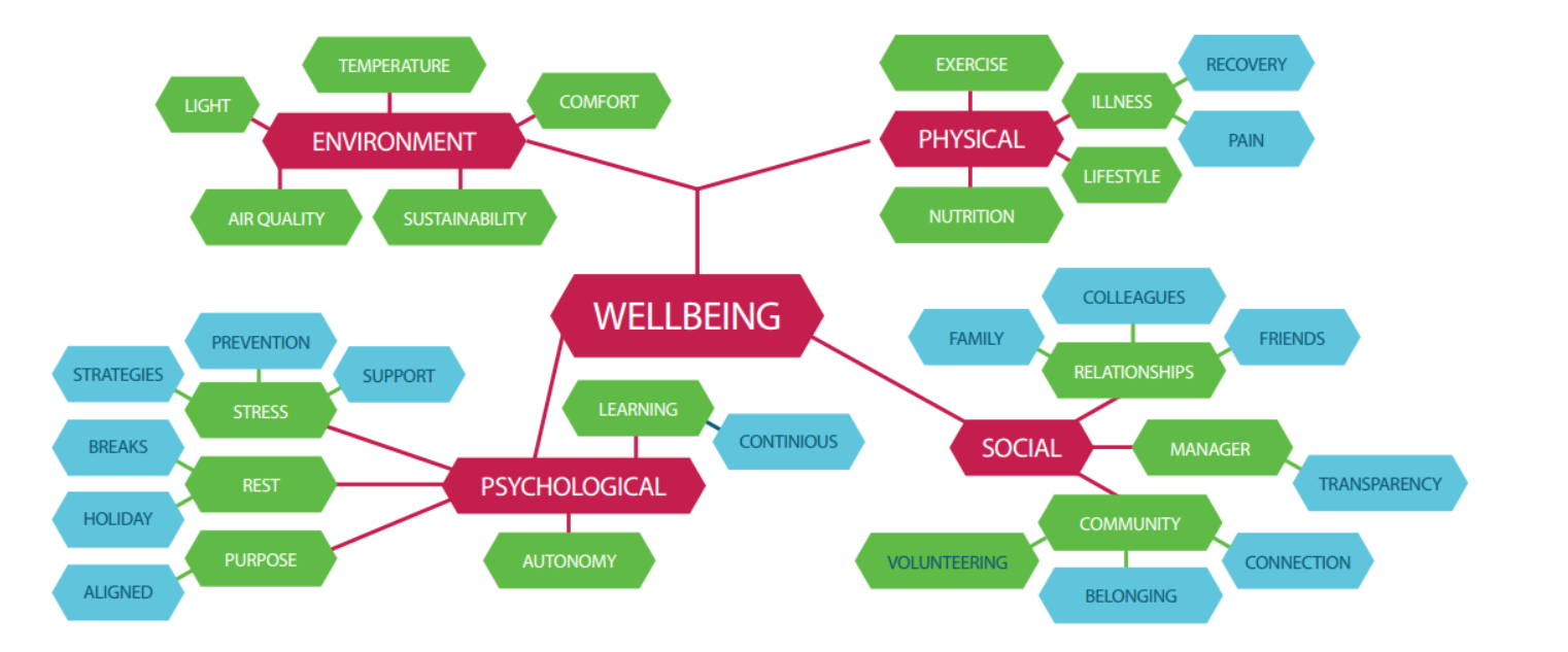 Figure 1: Workplace wellbeing